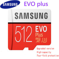 New 100% Original Samsung Micro Sd Memory Card 512gb icrosd Cards Sdhc Sdxc Max 95mb/s Evo C10 Flash Drive Tf Card