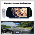 7Inch 800*480 Car Hd Display Rear View Mirror Monitor 2ch Video Input Parking Assistance TFT LCD Digital Car Monitor Mirror