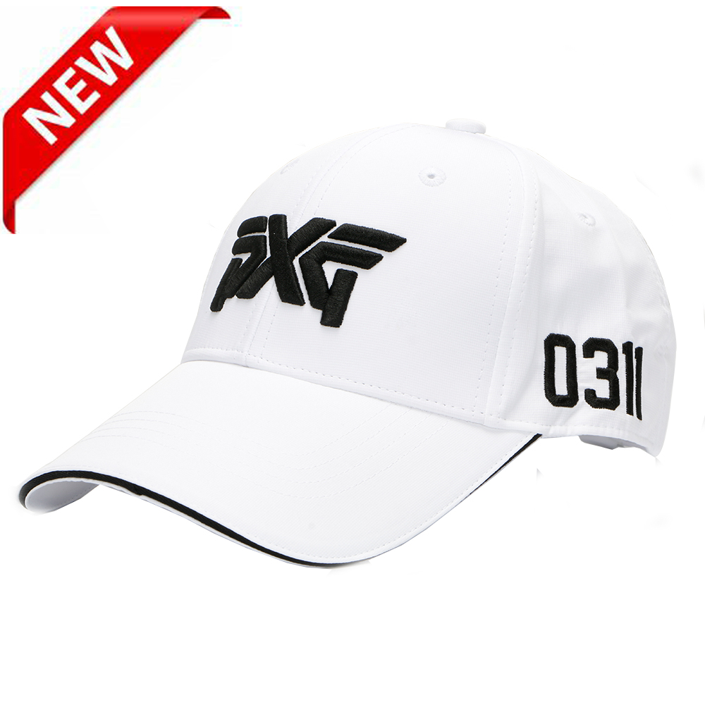 New Golf hat PXG golf cap Baseball cap Outdoor sport hat sunscreen shade cap Free shipping casual letter c shape baseball hat