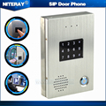 VoIP door phone access control ip intercom with Password or Swipe card