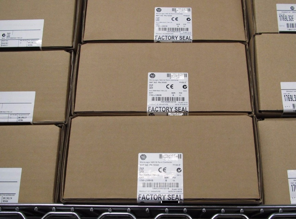 ALLEN BRADLEY MICROLOGIX 1400 1766-L32BXB 1766L32BXB NEW FACTORY SEALED 2014, FAST SHIPPING allen bradley 1763 l16dwd new and original factory sealed have in stock