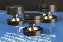 4 zestaw głośnik izolacja dźwiękowa stopy głośnik kolce podstawa Pad Audio stożki HiFi mocowania wzmacniacz podstawa stojaka Pad