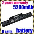 Jigu substituição da bateria do portátil para hp compaq 510 610 615 6720 6730 6735 6820 6830 s 451086-161 451568-001