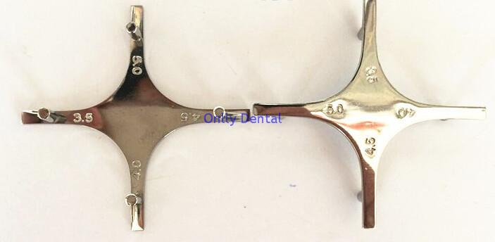 Dental cruciform orthodontic braces locator (2)