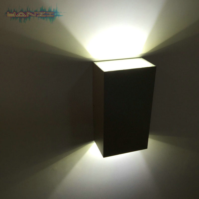 Modern outdoor waterproof 6w cool white led wall lamp living room wall light bedroom hallway ...