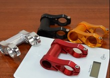 Litepro adjustable double stem folding bike bmx riser biccyle handlebar extender