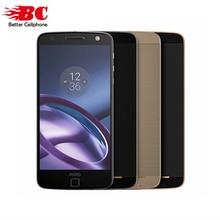 Motorola Moto Z XT1650-05 5.5 «1440 P 2 К Snapdragon 820 Android 6.0 4 г td LTE смартфон 4 ГБ Оперативная память 64 ГБ Встроенная память 13MP Touch ID NFC