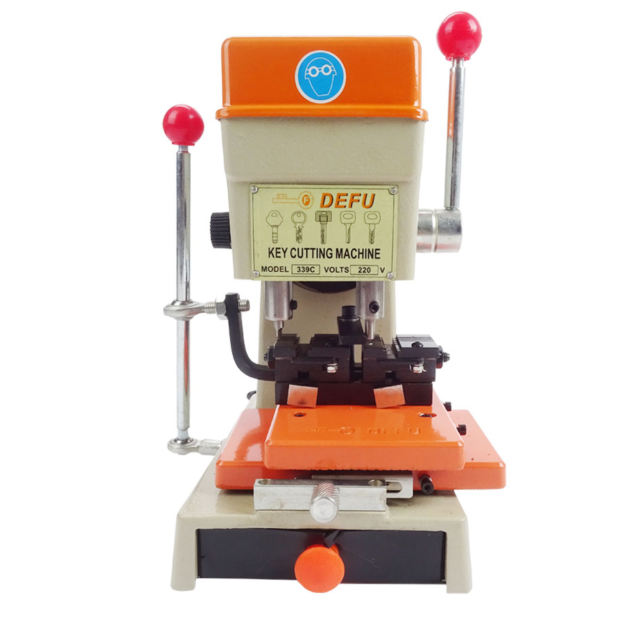 339C Vertical Key Cutter Defu Key Cutting Machine Key Duplicating Machine Locksmith Tools Lock 220v / 50hz