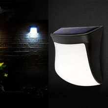 LED solar street light intelligent control induction new runway outdoor wall lamp without charging