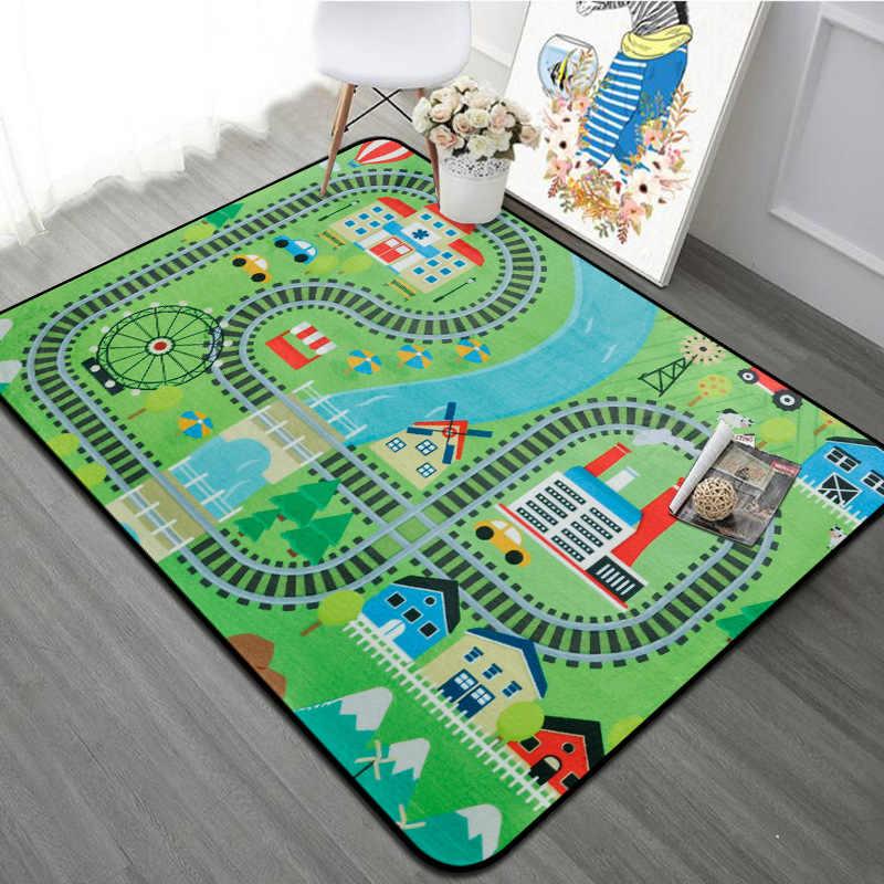 Bedroom Kids Play Mat