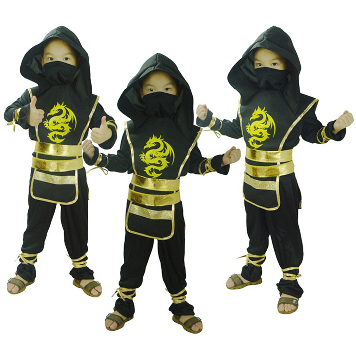 Free Shipping Halloween Christmas Carnival Costumes for Children Masquerade Party Kids Boys font b Naruto b
