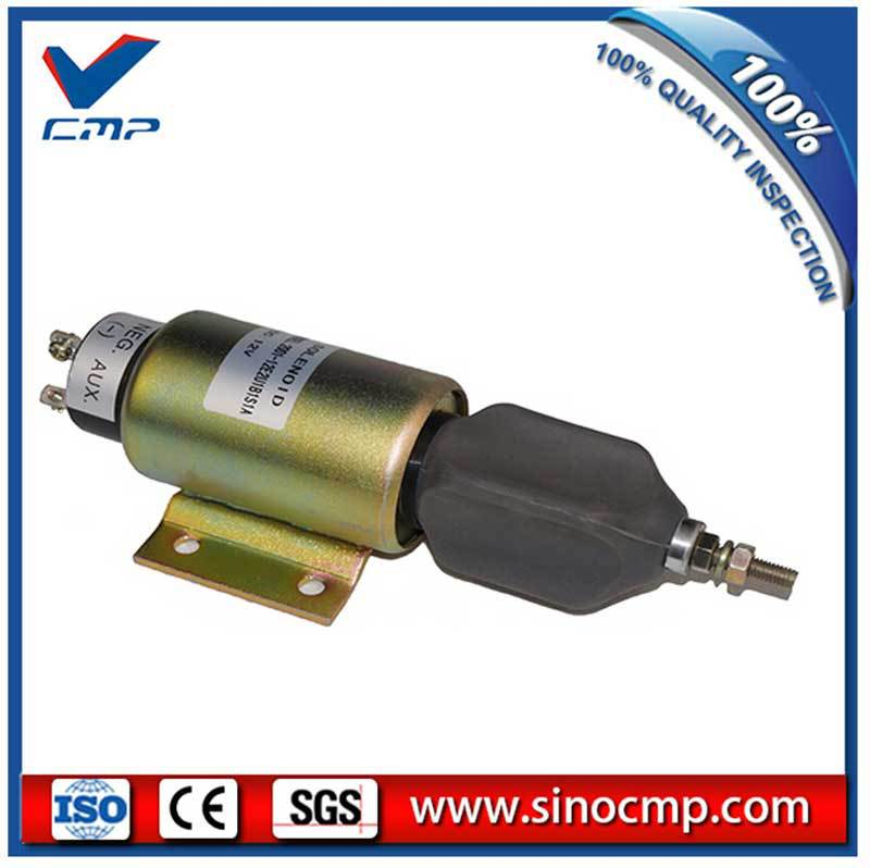 12V excavator fuel stop solenoid valve SA-3838
