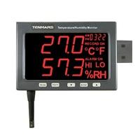 TENMARS TM 185 Industrial LED Temperature Humidity Monitor