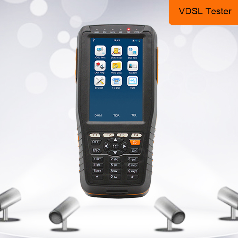 TM-600 VDSL2 Tester ADSL/VDSL for xDSL Line test and Maintenance Tools (ADSL/ADSL2/ADSL2+/VDSL2 /READSL with DMM Function )