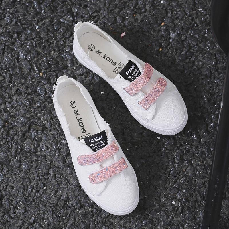 2 Sauvage Nouveau 2018 1 3 Étudiant Femmes Toile Casual Chaussures De Été qvRwwA