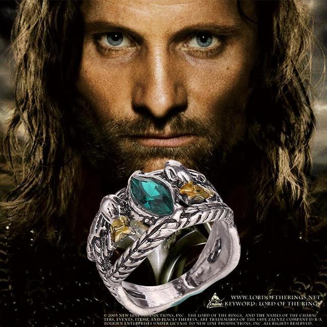 The Hobbit Lord of the Rings; Ring of Barahir Aragorn Gondor