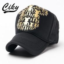 Fashion New Men's Baseball Cap Women Gorras Cartoon Bear Printed Mesh Casual Cap Summer Outdoor Sport Sun Hat wholesale