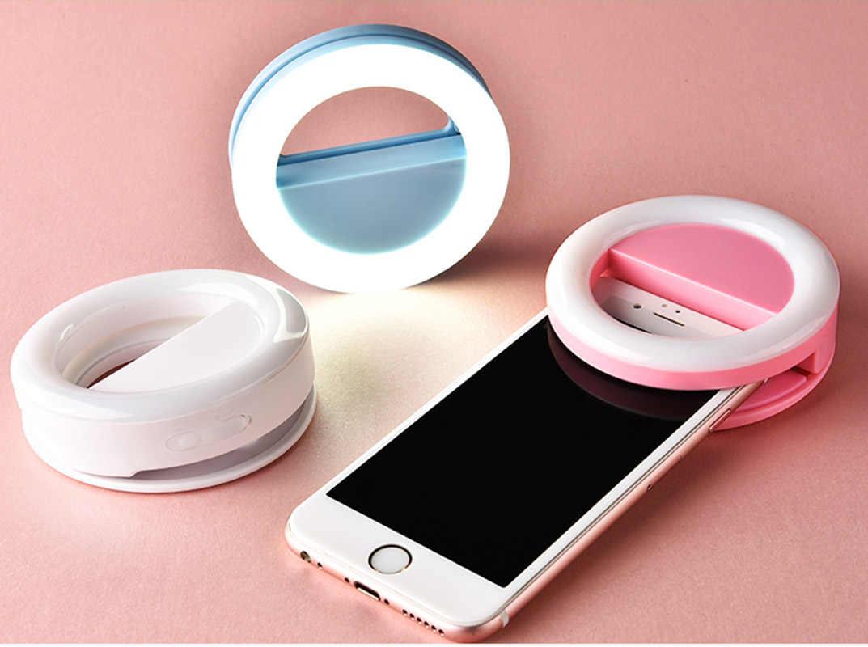 Luxury GIFT Universal LED Flash Light Up Selfie Luminous Phone Ring case  For Sony Xperia L1 XA1 Ultra XZ Premium XZs E5 XA Ultra