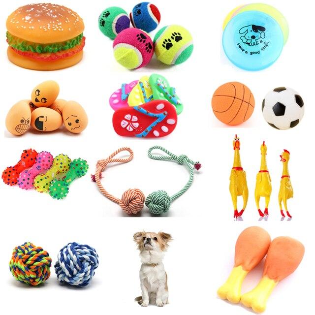 גומי צהוב Screaming עוף ללעוס עצם נעל כלב כדור כלב צעצועי שן טחינה אימון לחיות מחמד צעצוע חריקת צעצוע לכלבים