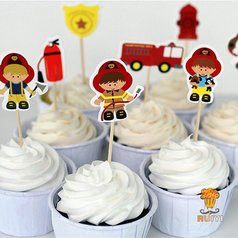 Fireman Cake Decorating Supplies