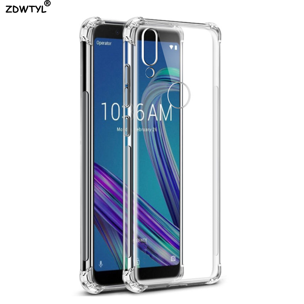 Asus Zenfone Max Pro M2 ZB631KL ZB633KL Case Soft Transparent TPU Cover Phone Case ASUS Zenfone Max Pro M1 ZB602KL X00TD Case