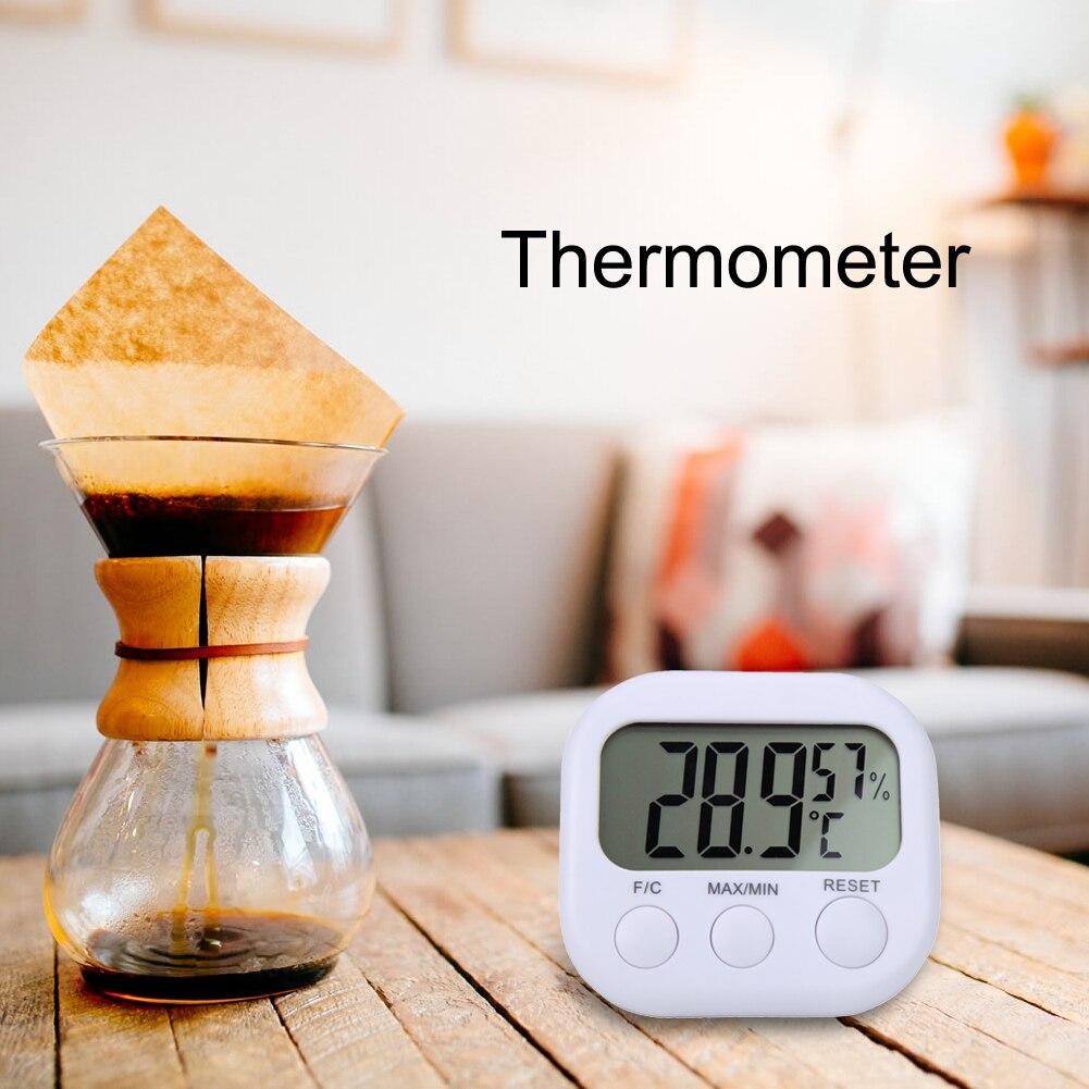 Electric 2017 Mini Digital LCD Indoor Convenient Temperature Sensor Humidity Meter Thermometer Hygrometer font b Tester