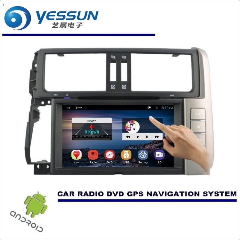 YESSUN For Toyota Prado 150 2009~2013 - Car DVD Player GPS Navi Navigation Android System Radio Stereo Audio Video Multimedia