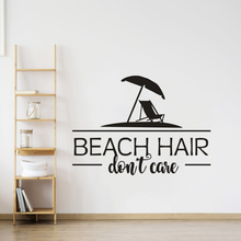 Beach Quote for Vacation Wall Sticker Sea Style Home Decor Ocean Theme Sign Decal Vinyl Murals AY1602