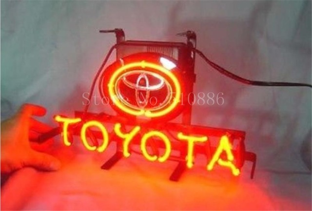 Neon Sign For Anese Toyota Car Brand Garage Business Real Gl Beer Bar Pub Display Light Signs 17 14