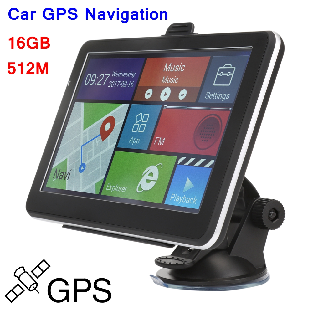 Car Styling Car GPS Navigation 7inch Navigator 512M 16GB MP3 Video Player For BMW E46 FM Radio Car Entertainment System Free Map 2 din car radio mp5 player universal 7 inch hd bt usb tf fm aux input multimedia radio entertainment with rear view camera