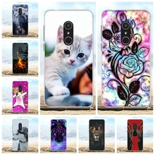 For Alcatel 1X Cover Soft TPU Silicone 5059D 5059 5059A Case Cute Cartoon Patterned Shell Funda