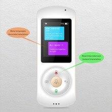 Мини Wi-Fi Мгновенное ГОЛОС умный переводчик в режиме реального времени интерпретации 28 Язык Обучающая машина для Бизнес встречи
