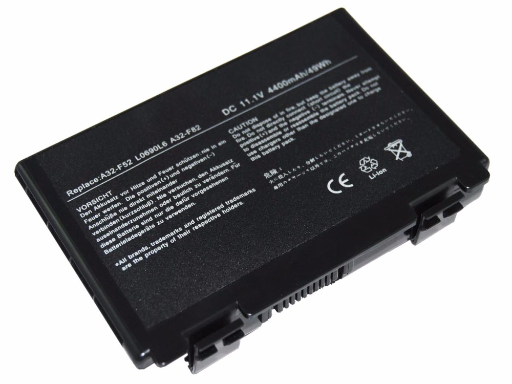 LMDTK új 6 cellás laptop akkumulátor ASUS F52 F82 K40 K40lJ K40lN - Laptop kiegészítők - Fénykép 5