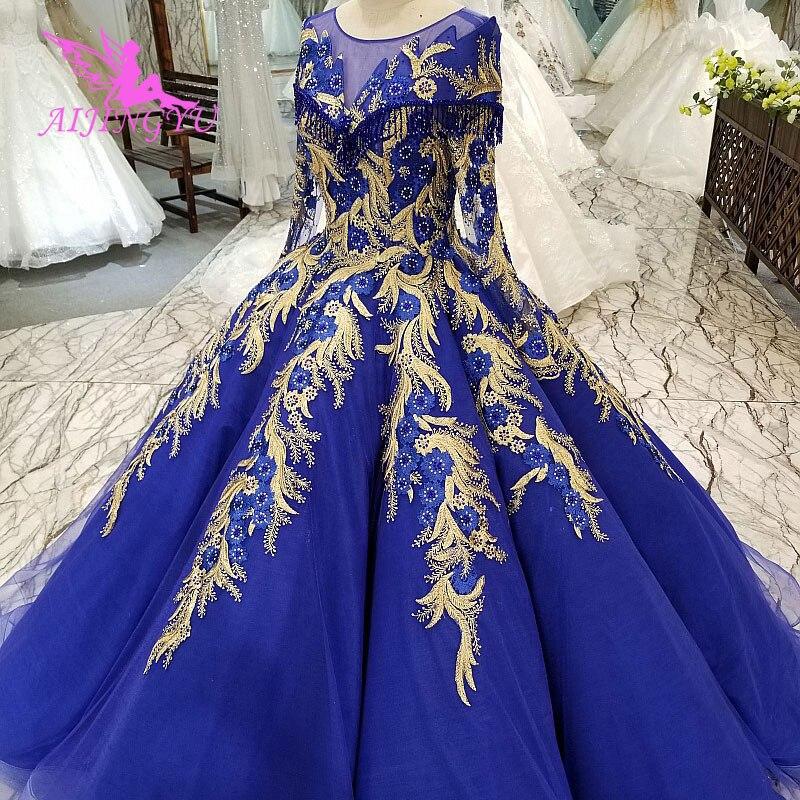 AIJINGYU Uk Свадебные платья викторианские сексуальные с накидкой простые AliExpress американские платья Свадебные платья 2018 бальное платье - 6