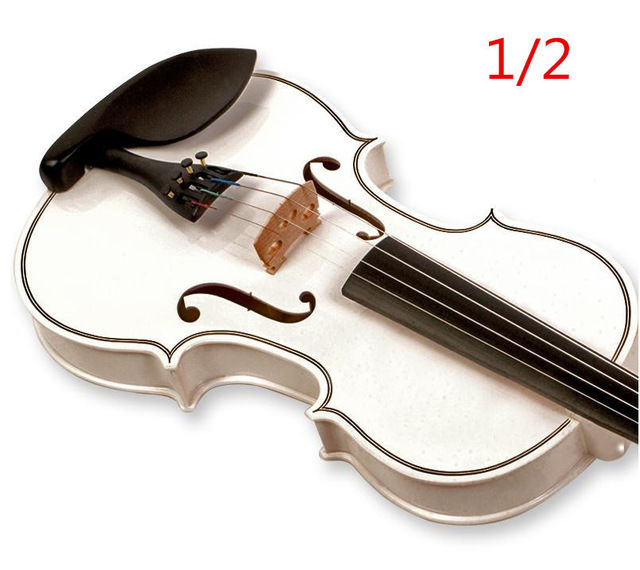 V123 High quality Fir violin 1/2 violin handcraft violino Musical Instruments Free shipping 4 4 high quality musical instruments violin bow electric violin handcraft violino