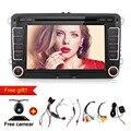 Новый Магазин! Автомобильный DVD 2 din Adroid 4.4 Автомобилей Радио В ТИРЕ Quad Core для VW/PASSAT/JETTA/TIGUAN/POLO/CC/TOURAM/SHARAN с GPS WI-FI
