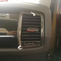 For Car Styling Accessories Skoda Kodiaq 2018 2017 Abs Chrome Inner Air Vent Trims Carbon Fiber