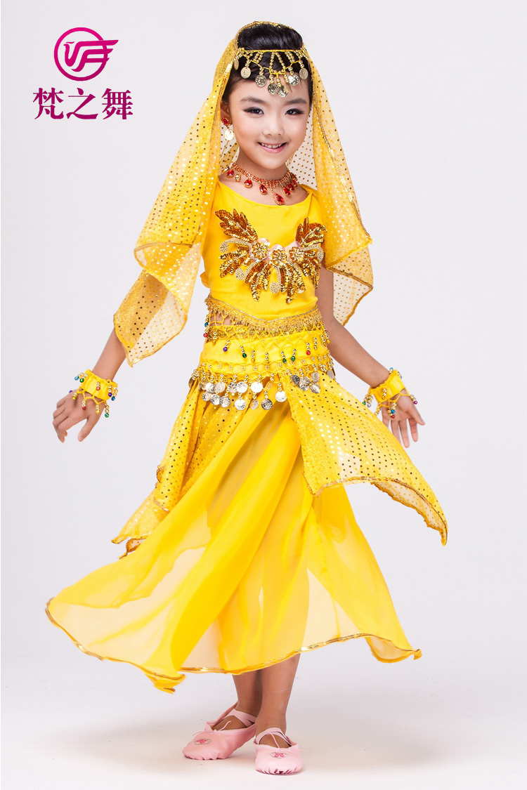 298bc31a0 Belly dance costume for children 5/7pcs indian kids belly dance wear  clothing arabic children belly dance set ET 059#-in Belly Dancing from  Novelty ...