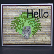 The new 2019 looks at the front of puppy embossed clip / stamp DIY scrapbook album decoration card to make a clear seal