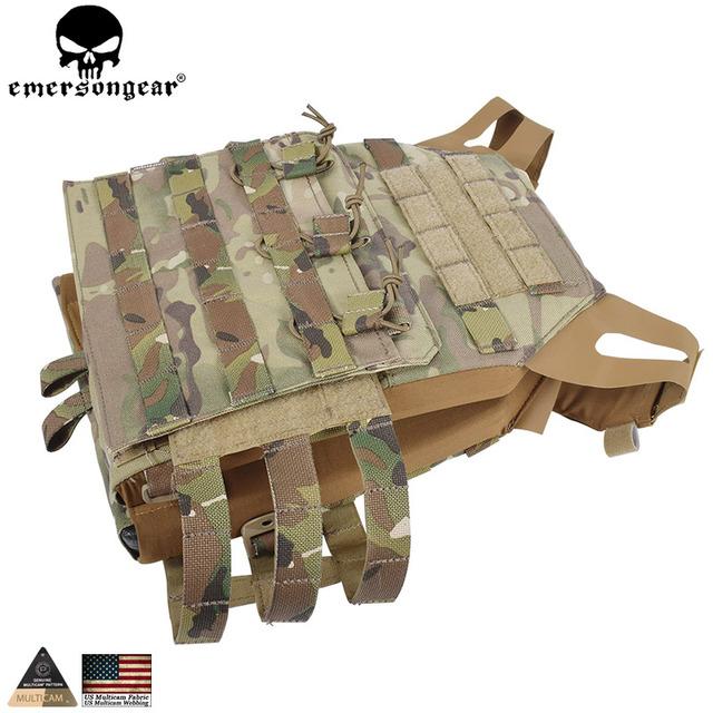 EMERSONGEAR Tactical Vest MOLLE JPC Vest Airsoft Paintball Molle Vest Chest Protective Plate Carrier Multicam Combat Vest EM7344