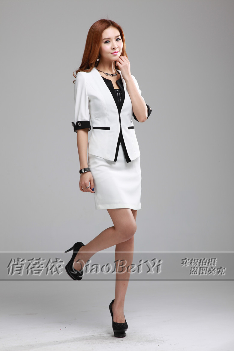 2013 Summer New Women Skirt Sets Formal Fashion OL Suits Ladies ...