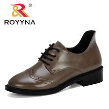 Женские туфли лодочки на шнуровке royyna модельные платформе