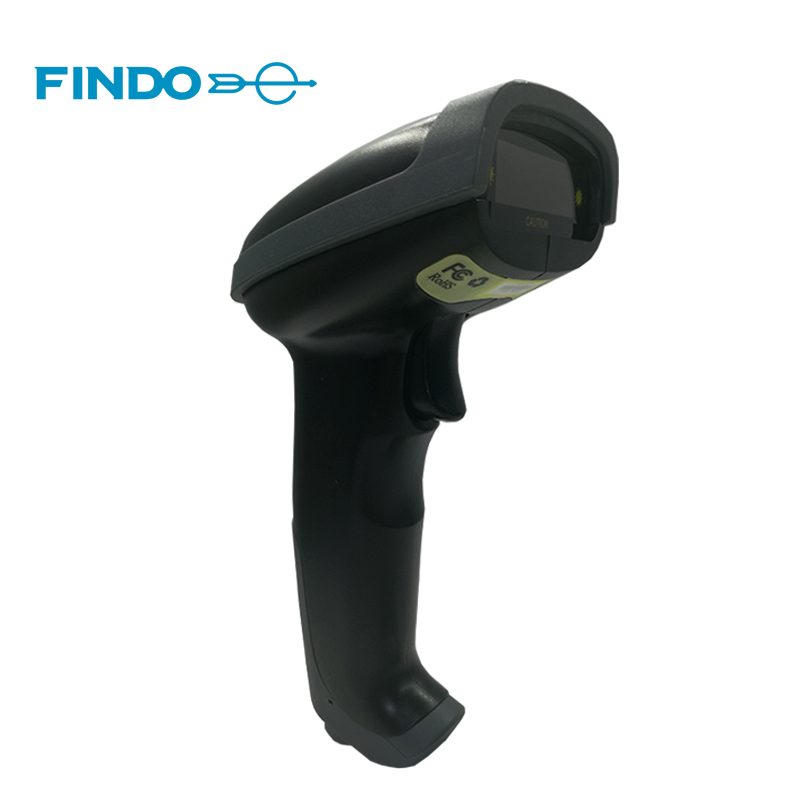 FINDO ручной лазерный сканер штрих-кода проводной 1D usb-кабель считывания штрих-кода для POS Системы супермаркет