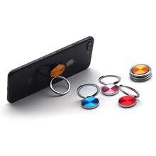 Mini Finger Ring Universal Mobile Phone Stand Holder   bureau desk smartphone support 360 Degree Rotate ring for phone