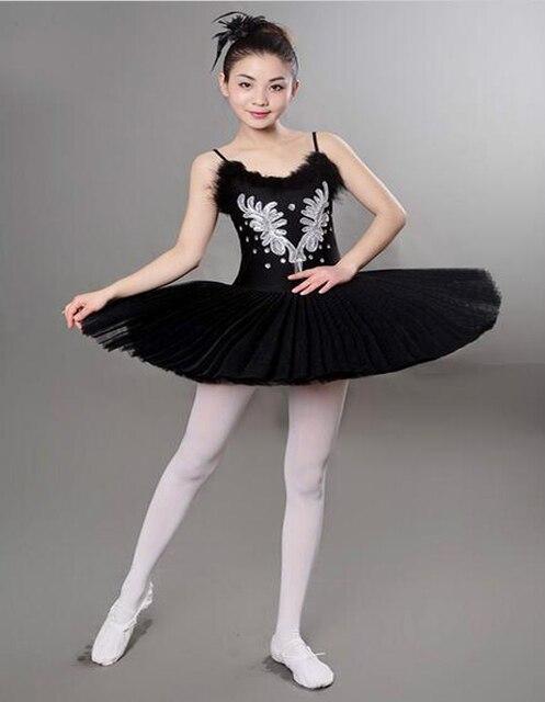 wei schwarz diamant schwanensee ballett kost m m dchen 6 schichten ballett. Black Bedroom Furniture Sets. Home Design Ideas