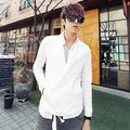 In the spring of 2017 South Korea slim two buckle men's casual suit (summer wear) X012 P75