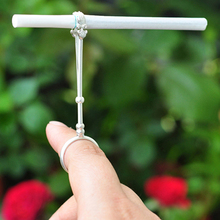 Cigarette Holder Ring Rack Vintage Metal Finger Clip Women Men Slim Cigarettes S