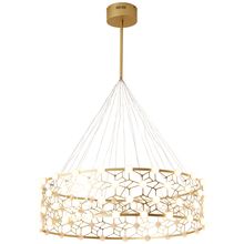 Nordic Post modern Droplight Light luxury Designer Gold Ring Wave Model Simple Bedroom Foyer Creative LED Pendant lights Fixture