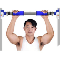 Home pull up bar door sit up chip up bar horizontal bar for home wall gym equipment 1pc