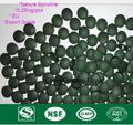 1000 píldoras Anti-fatiga Mejorar inmune 250g Tabletas de Espirulina naturales Salud Grado de Exportación de Calidad alimentaria Aprobados Envío shiopping